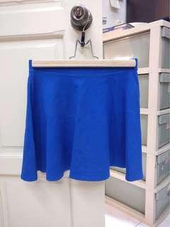 Forever 21 Blue Skater skirt