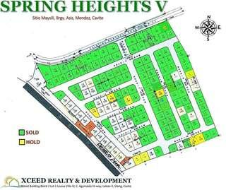 120sqm pre-selling Subdivision Lot for Sale near Tagaytay city