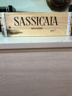 Sassicaia 2007 magnum 1.5 litre,