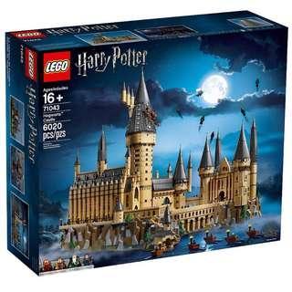 Leeogel Lego 71043 Hogwarts Castle Harry Potter Wizarding World - New In Sealed Box