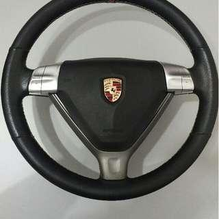 porsche steering wheel with airbag for sale