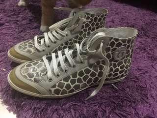 Ferragamo High cut sneakers