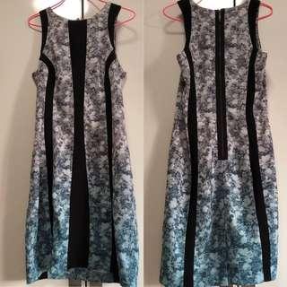 Bodycon ombré dress H&M
