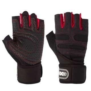Gym / Weightlifting / Spinning / Cycling Gloves with Wrist Support