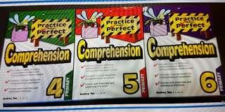 Upper Primary Practice Makes Perfect English Comprehension Assessment Books