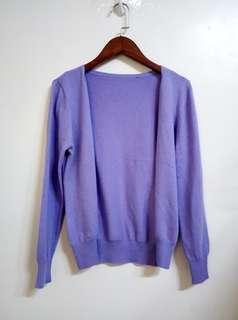 🚚 全新女香芋紫針織毛衣外套 XS號 紫色 毛衣 罩衫