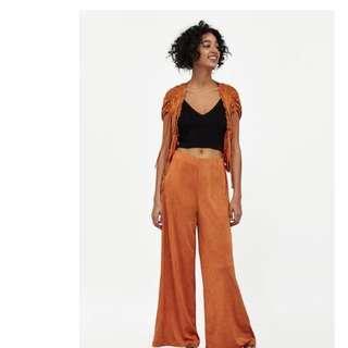BNWT Authentic Zara Dark Orange Jacket