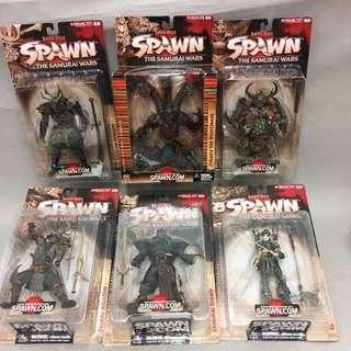 McFarlanes's Spawn Series 19 The Samurai Wars Complete Accessory Pack