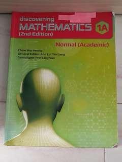 Discovering Mathematics 1A