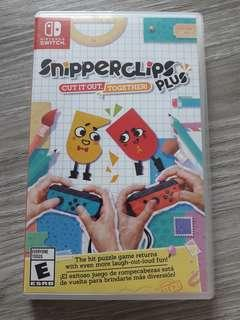 Snipperclips plus for switch