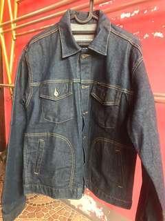 jaket jeans april sz m sekali pake