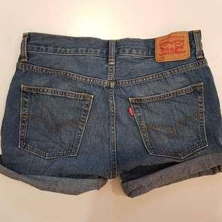 LEVI'S | denim shorts