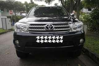 Toyota Fortuner 2.7 7 Seater Auto