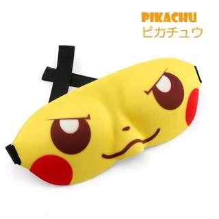 5e45baa4 Cute Eye Mask For Sleeping Naruto Pikachu Anime Cosplay Funny 3D Eyeshade  Cover Rest Sleep Eye