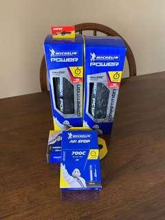 Michelin Power Competition and Tubes Bundle