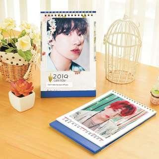 Jung Kook (BTS) 2019 Kpop PHOTO Desktop Calendar (Big)