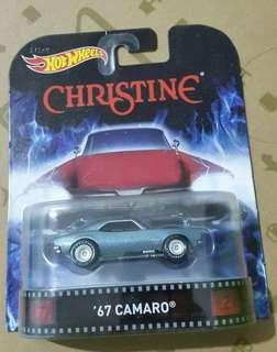 Hotwheels Retro Entertainment 67 Camaro free shipping