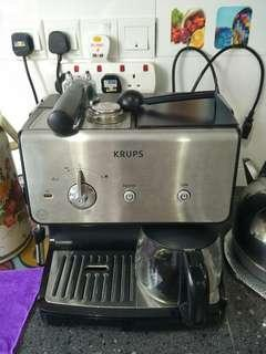 Krups Coffee machine for expresso