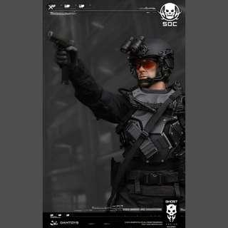 Ghost Series Special Ops Centre Glint Team Leader Ryder Watson