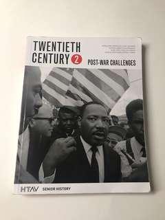 Twentieth Century 2 (Post War Challenges)