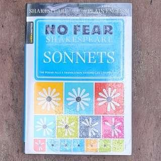 No Fear Shakespeare: Sonnets - Sparknotes