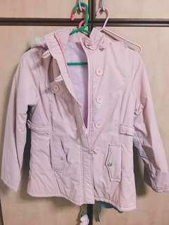 Children's Pink Winter Jacket