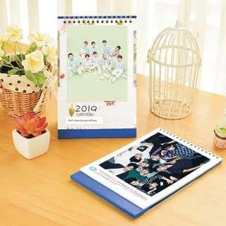 Nine Percent 2019 Kpop PHOTO Desktop Calendar (Big)