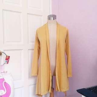 ‼️REDUCED‼️Two Ways Yellow Cardigan