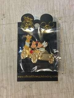 絕版 2005年 美國加州 迪士尼樂園 50週年 徽章 pins