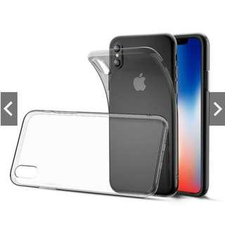 iPhone Xs Clear Soft TPU Silicone Case