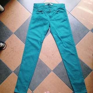 ‼️REDUCED‼️Zara Green Jeans