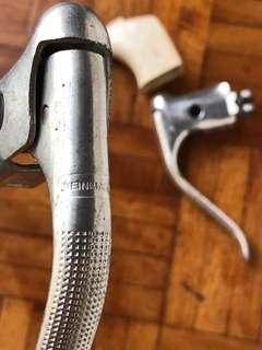 Vintage Weinmann brake lever & hoods