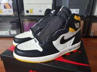 US 9 Jordan 1 Not For Resale Yellow/Maize
