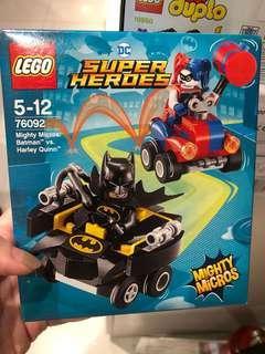 LEGO DC Super Heroes Mighty Micros Batman versus Harley Quinn Superhero Toy