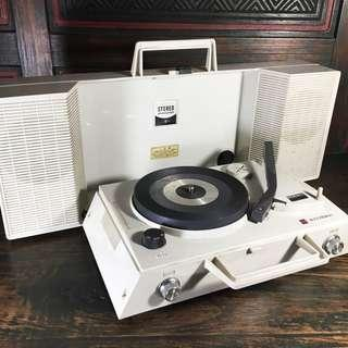 1970s National Portable Turntable Model SF-420