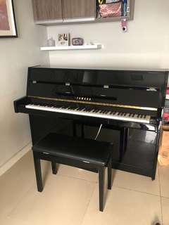 Piano Yamaha akustik ju109 U1 Built Up Japan