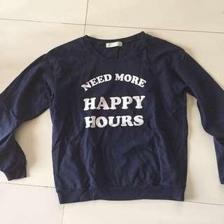 Need More Happy Hours GTW Urban Pullover