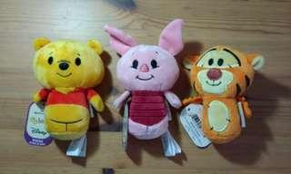 BNWT Hallmark Winnie the Pooh & Friends Itty Bittys