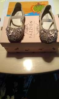 Pazzion size shoes for toddler