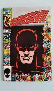 Daredevil  ( vol.1) #236 Barry Winson Smith