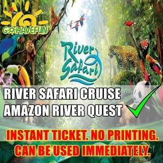 🚚 River Safari Admission Ticket