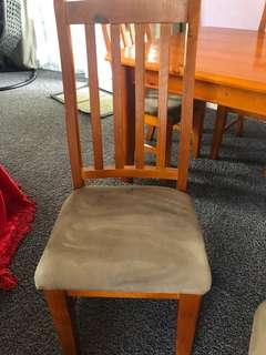 Dining table with 6x chairs