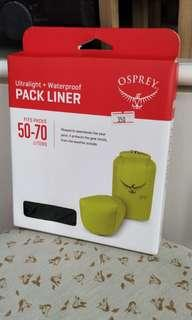 100% NEW PACK LINER LARGE  BACKPACKING