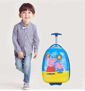 🚚 16 inch Egg Shaped Cartoon Hardshell ABS Designer Trolley Luggage Bag