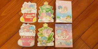 Sanrio Twin Stars 聖誕咭