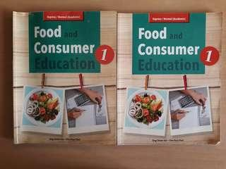 Food and Consumer Education Textbooks Sec1