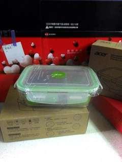 🚚 耐熱玻璃分隔保鮮盒