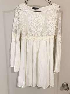 🚚 質感軟蕾絲洋裝