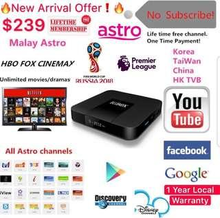 🚚 Offer!!Life time FREE IPTV For Singapore users MediaCorp Channels(Malay/Chinese/Indian/English/Kids/Sports/Movies/Documentary/Korea/) and many more -IGTV-IGBox