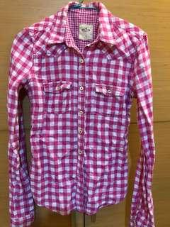 🚚 Hollister 格子襯衫